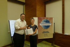 Humorous Speech Contest 1st Runner Up - Ai Ai Ong