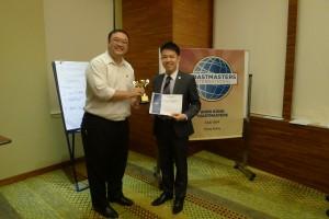 Humorous Speech Contest Champion - Andrew Yeung
