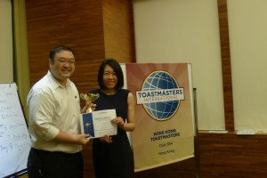Evaluation Speech Champion - Sue Yen