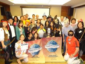 Hong Kong x Kowloon Toastmasters Club Halloween Joint Meeting