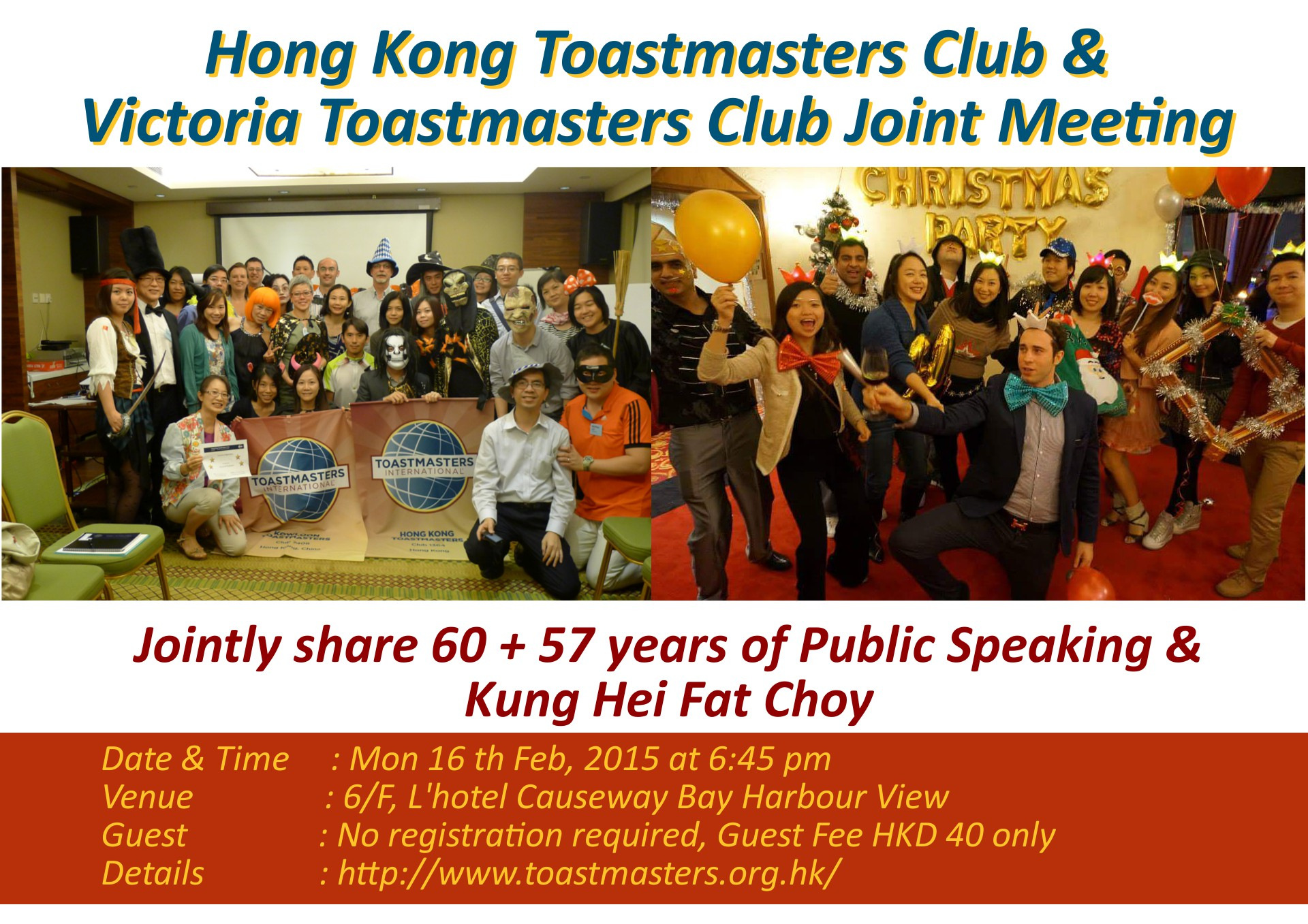 HKTMC International and Table Topics Speech Contest 2nd March 2015