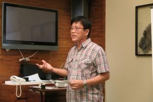 Paul Wong evaluating Niall Lagrue