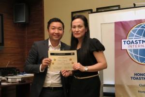 Appreciatoin to Helen, Area G1 Director