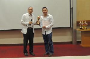 2nd Runner up in Humorous Speech Contest: Ben Fung