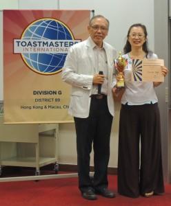 Winner of Humorously Speech Contest