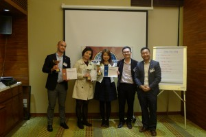 Intl Speech Contest winners