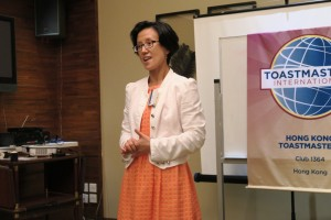 Toastmasters of the Evening - Alice Wong
