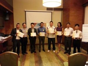 Evaluation Speeches Contestants